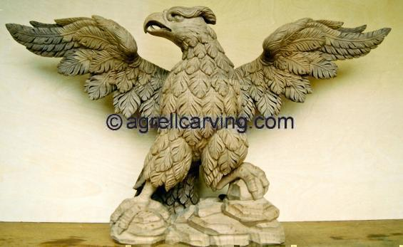 Eagle console table