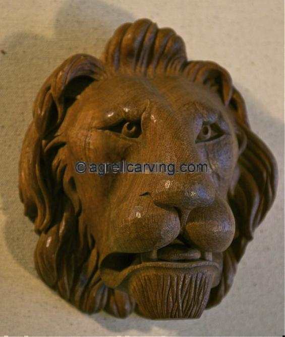 Carved Lion.