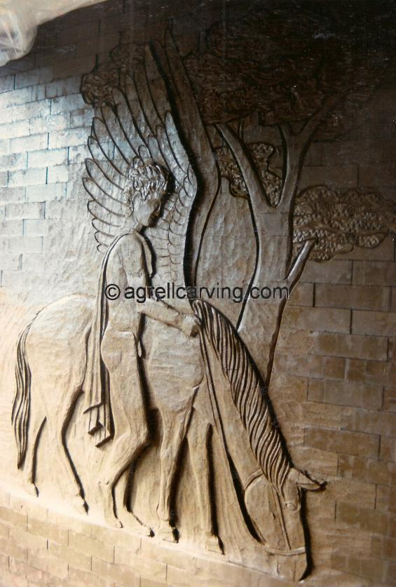 Brick Carving