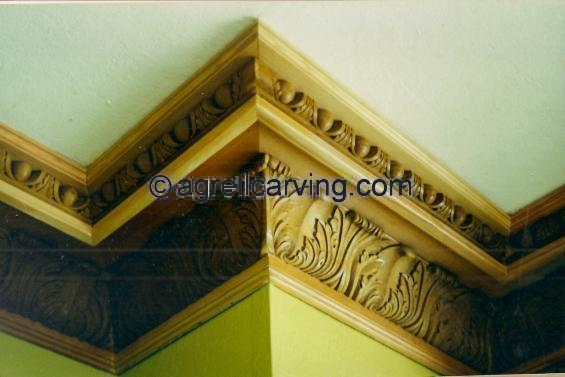 Cornice ceiling detail