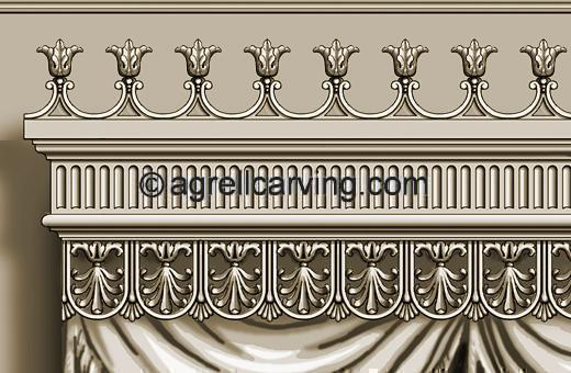 Neoclassical valance