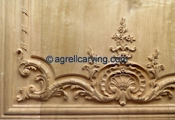 French panel copy from Versailles by Agrell woodcarving