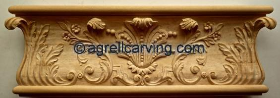 French Louis Door Moulding Agrell woodcarving