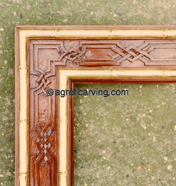 Chinoiserie chinese frames Mouldings Moldings Band Agrell ...