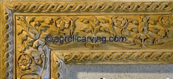Renaissance Panel Italian-complete Mouldings Moldings Frame acanthus ...