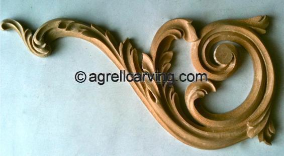 Acanthus scroll