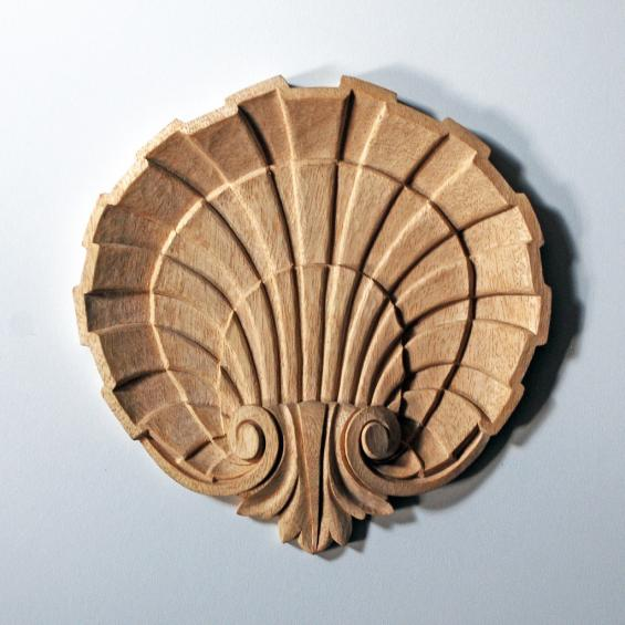 Triple-Layered Scallop Shell Appliqué
