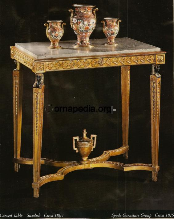 19th Century table.