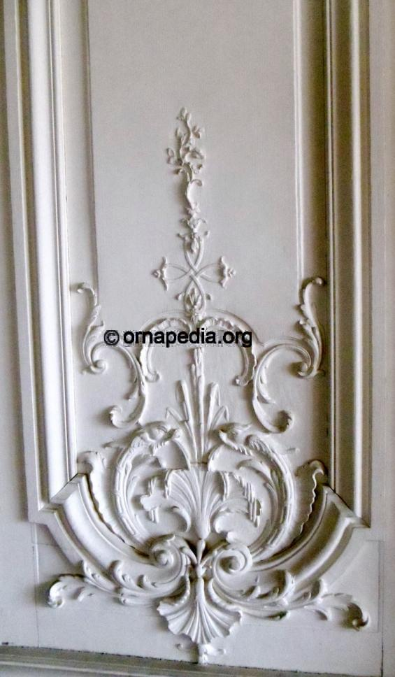 Ornapedia French Versailles Woodcarving Wall Panel
