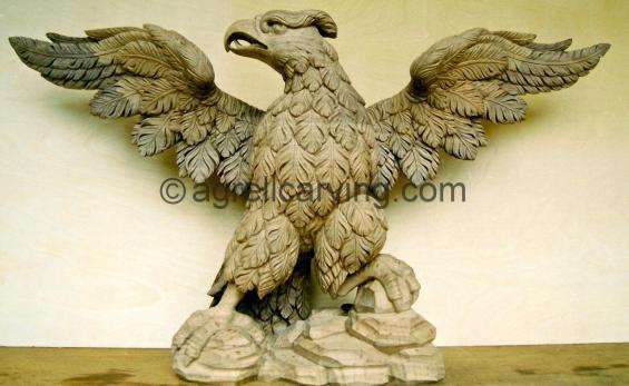 Eagle console table