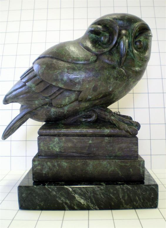 Art Deco Owl.