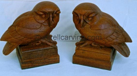 Art Deco Owls.