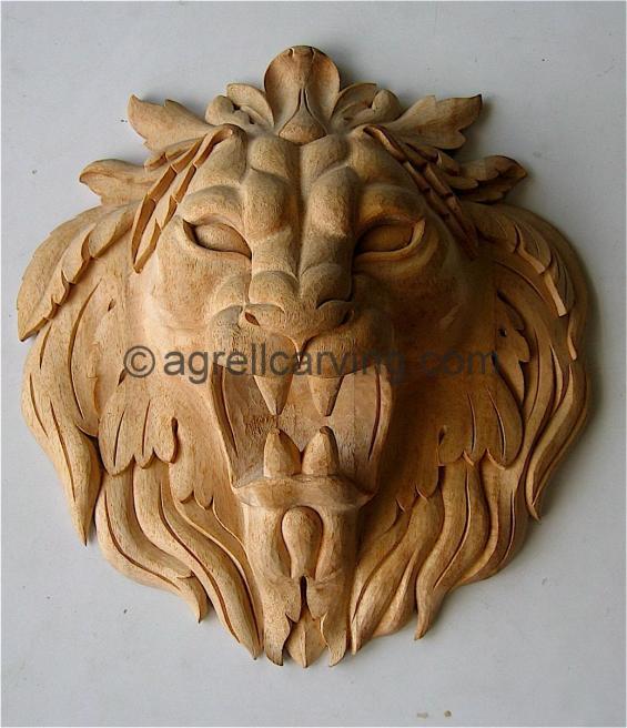 Carved Lion.