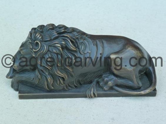 Bronze Lion.