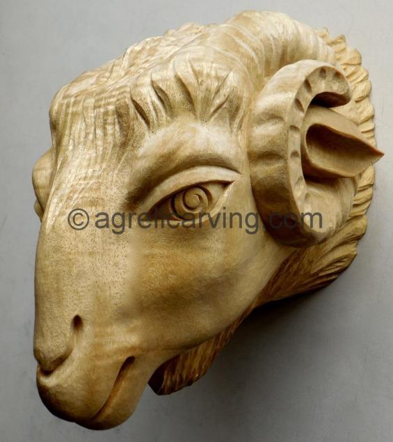Rams head.
