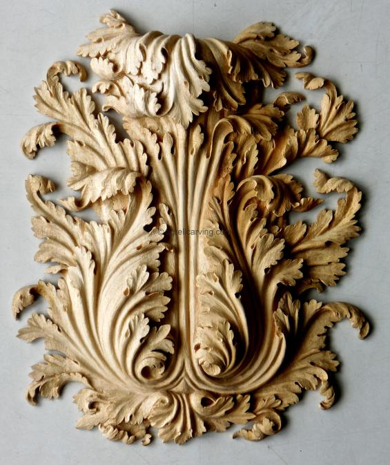 Acanthus applique - rococo