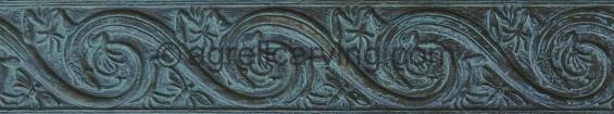 Art Nouveau lizards