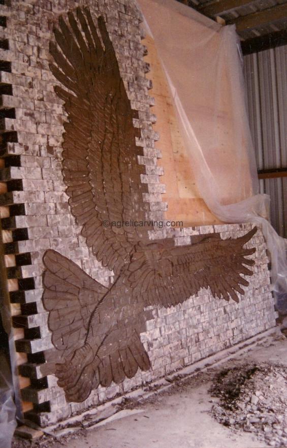 Brick Carving