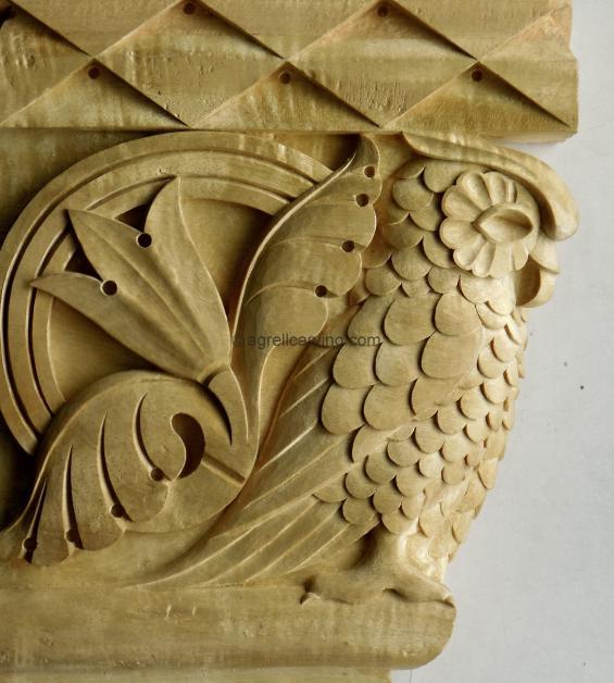 Deco Pilaster capital