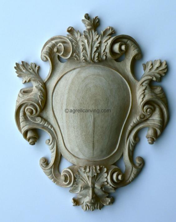 18th Century cartouche