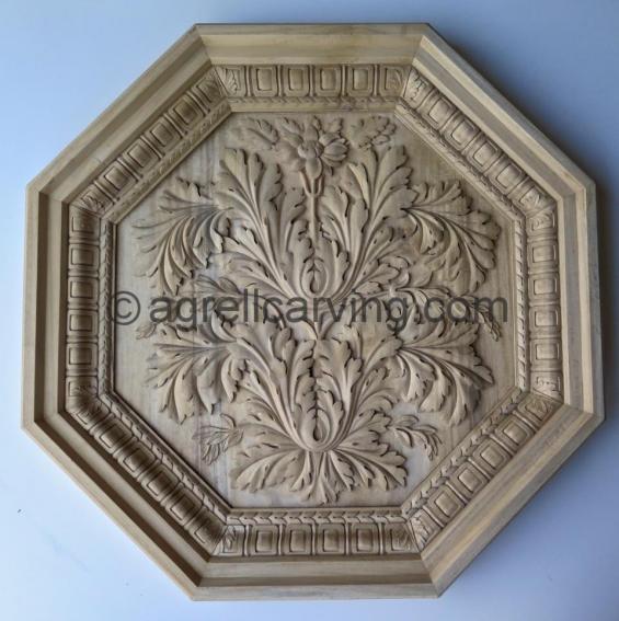 Italian ceiling panel