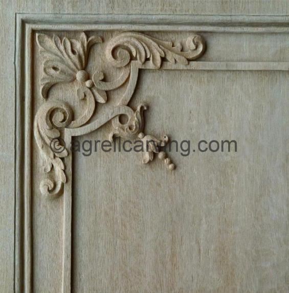 French corner detail