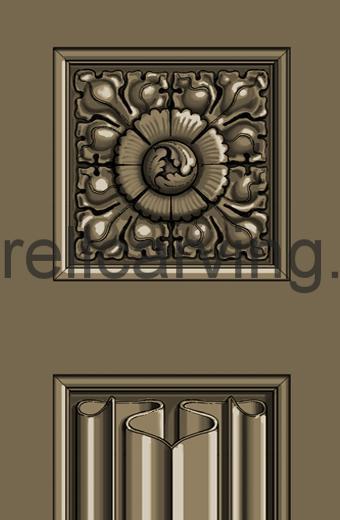 Gothic door detail