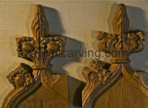 Gothic finials