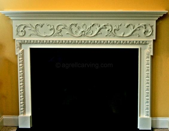 English fire surround