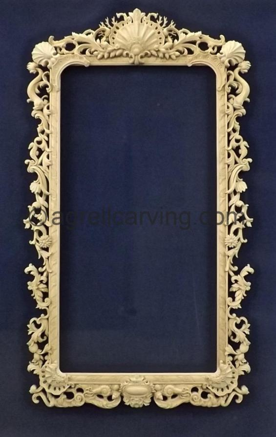 Frame with sea creatures