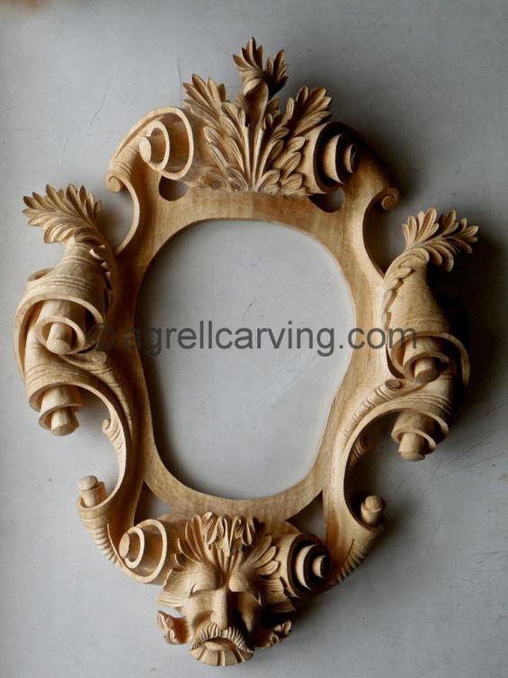 Cartouche frame