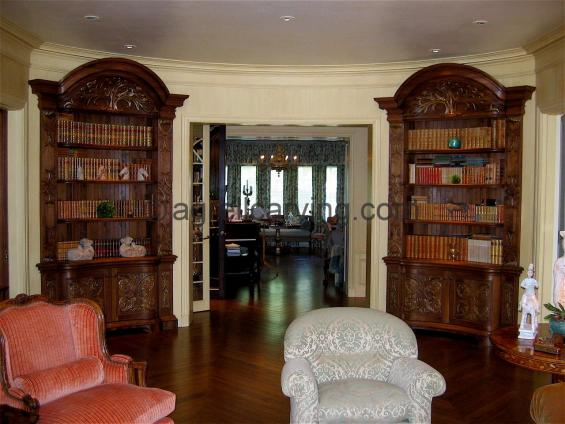 Baroque bookcases