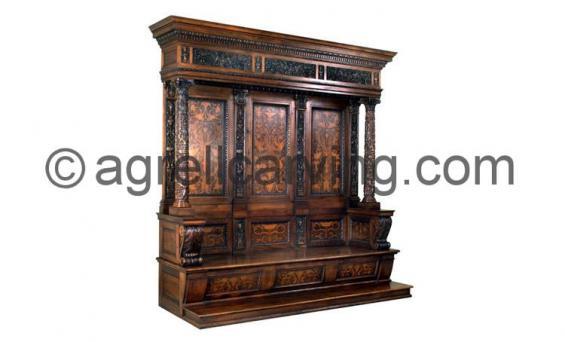 Medici throne