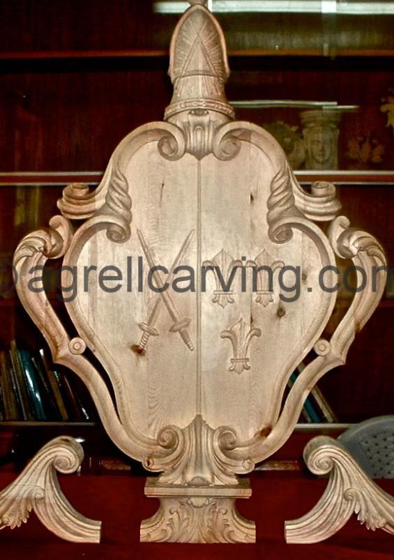 Heraldic Cartouche