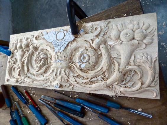 French Panel Versailles unfinished