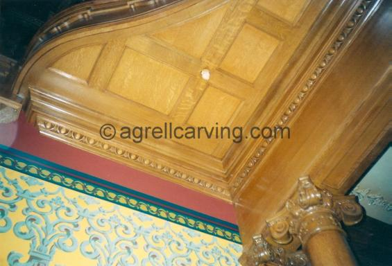 Egg and Dart ceiling