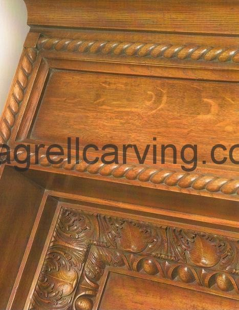 Coffered ceiling moulding
