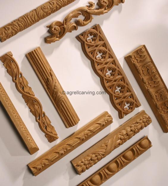 Assorted mouldings