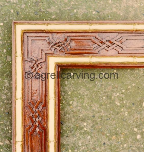 Chinoiserie frame
