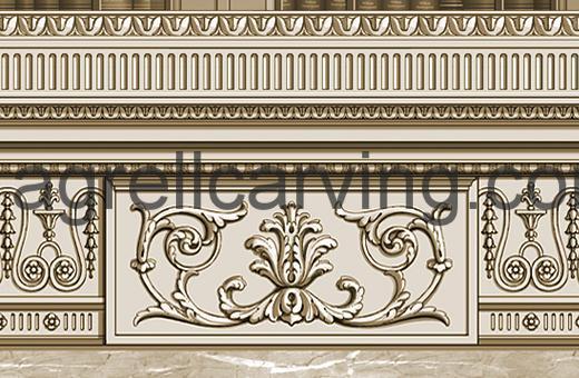 18th Century frieze