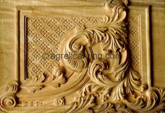 Baroque panel