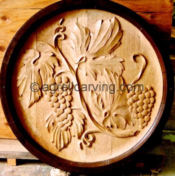 Carved barrel end