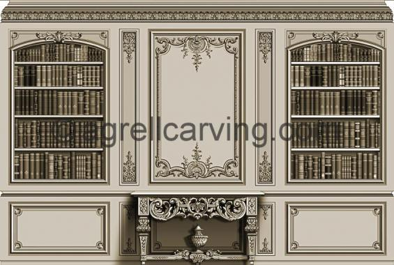 French Louis XIV room East elevation