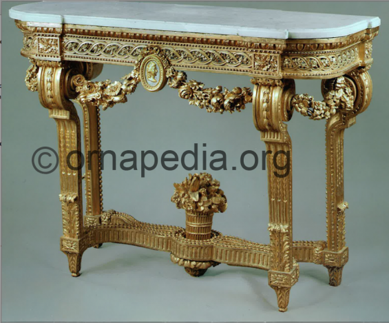 18th Century French Kraemer console table.