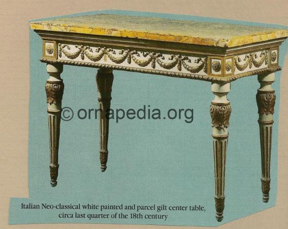 18th Century Italian table.