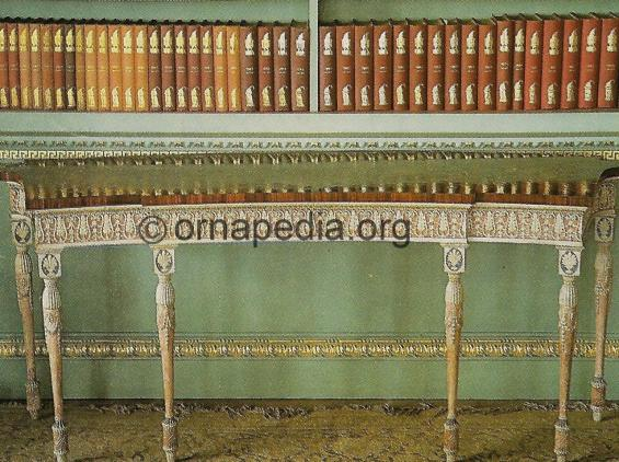 18th Century console table.