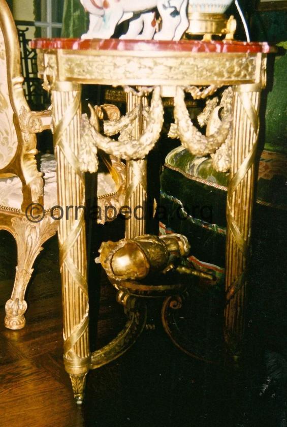 18th Century table.