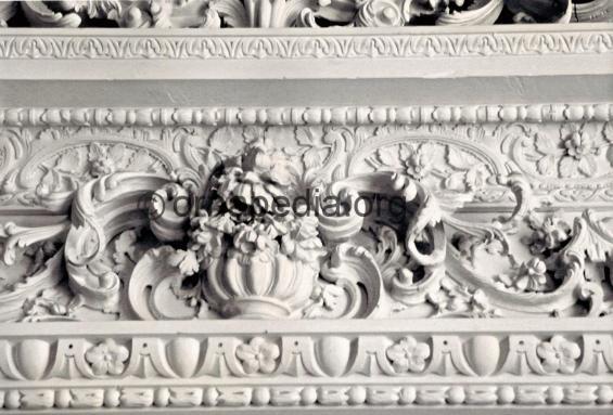 Rococo door frieze