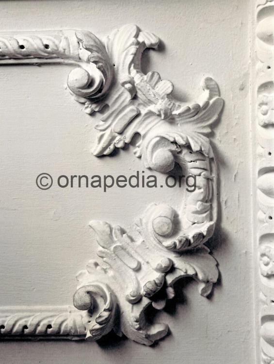 Rococo panel