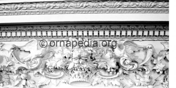Rococo frieze detail